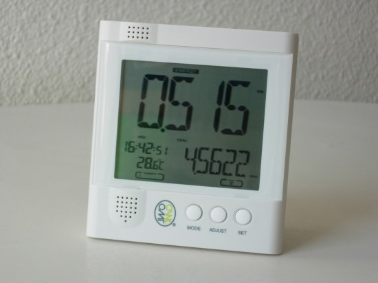 OWL CM119 LCD display
